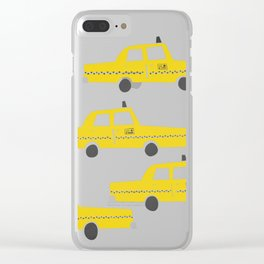 New York Taxicab Clear iPhone Case