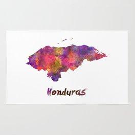 Honduras  in watercolor Rug