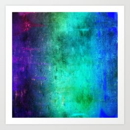 Abstract Coding Art Print