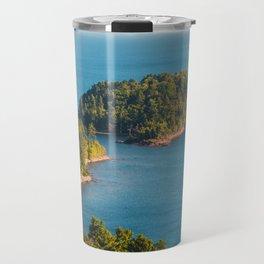 Little Presque Isle on Lake Superior Travel Mug