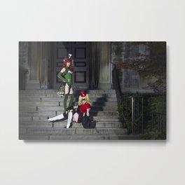 Ivy & Harley Love Metal Print
