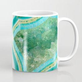 Sea Spray Crystal Agate Slice Coffee Mug