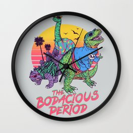 The Bodacious Period Wall Clock