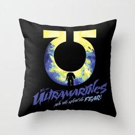 Ultramarines Throw Pillow