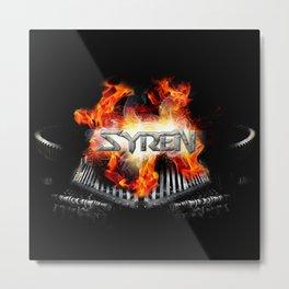 SYREN Metal Print