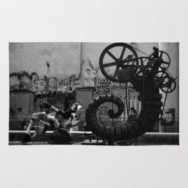 Steampunk Tentical Rug