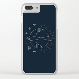 Swallow The Sun Clear iPhone Case
