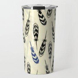 Feather Falling Travel Mug
