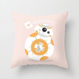 BBGR8 Throw Pillow