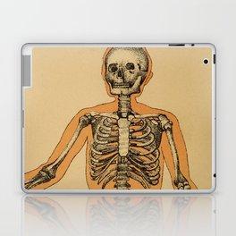 Vintage Human Skeleton Illustration (1887) Laptop & iPad Skin