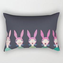 5 X Louise Belcher Rectangular Pillow