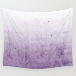 Radiant Orchid Purple Ombre  Wall Tapestry