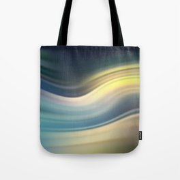 Moonlight Sonata. Abstract modern wavy flowing silk, satin, smooth Tote Bag