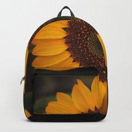 Sunflower yellow green Backpack