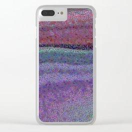 Broken Colors Clear iPhone Case