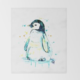 Penguin - Waddle Throw Blanket