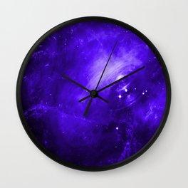 Crab Nebula Ultraviolet Wall Clock