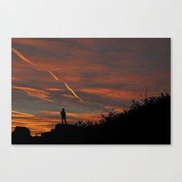 Pensive Sunrise Canvas Print