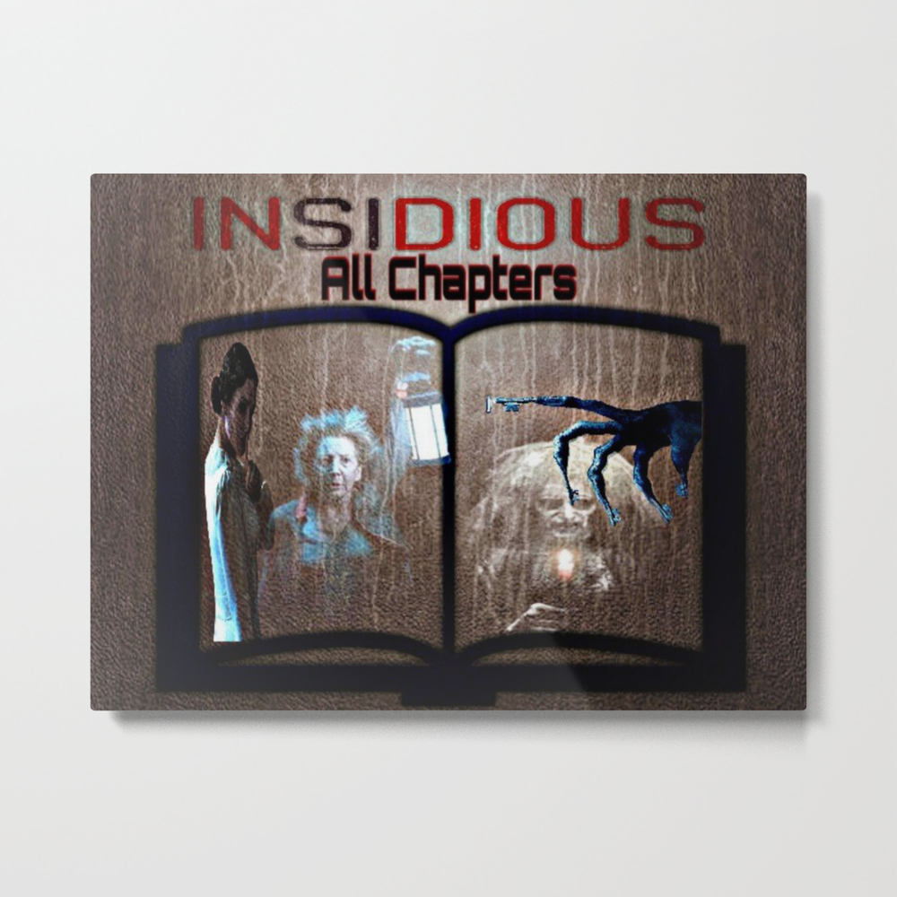 All Chapter Of Insidious Metal Print by Sermani MTP8415199