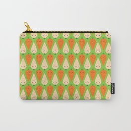 Happy Carrots & Parsnips Carry-All Pouch