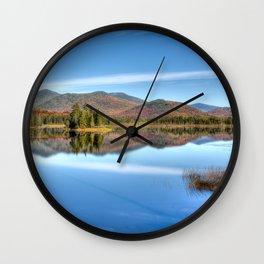 Fall at Kennebago Wall Clock