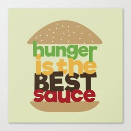 the best sauce Canvas Print