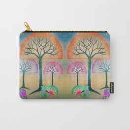 Moon Bird Forest Carry-All Pouch