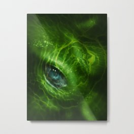 Blue Eye 2_Large Metal Print
