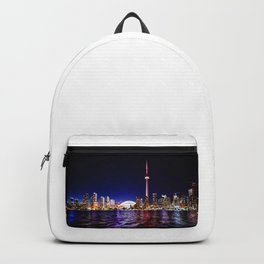 toronto city cn tower skydome Backpack