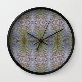 Wooden Rhomboids Wall Clock