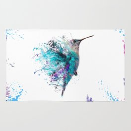 HUMMING BIRD SPLASH Rug