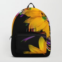 New York NYC - Statue of Liberty - sunrise Backpack