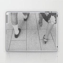 Traces - women walking Laptop & iPad Skin