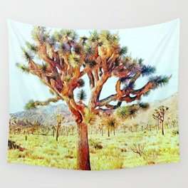 Joshua Tree VG Hills by CREYES Wall Tapestry