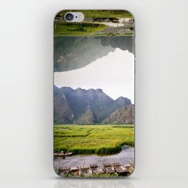 Wooden Boats iPhone Skin