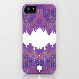 Fabric Geode 2 iPhone Case