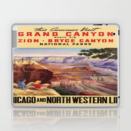 Vintage poster - Grand Canyon Laptop & iPad Skin
