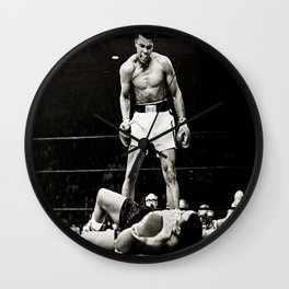 The Great Boxer Wall Clock