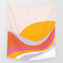 laurel canyon sunrise Wall Tapestry