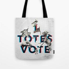 I Totes Vote Tote Bag