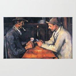 Paul Cézanne - The Card Players Rug