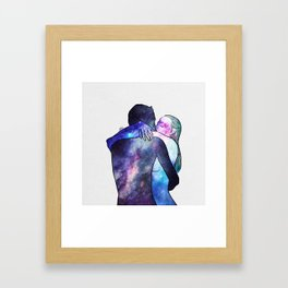 Just you gave me that feeling. Framed Art Print
