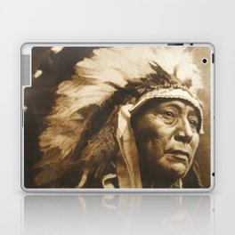 Chief Running Antelope - Native American Sioux Leader Laptop & iPad Skin