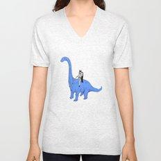 Dinosaur B Unisex V-Neck