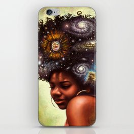 The Universe Within Us iPhone Skin