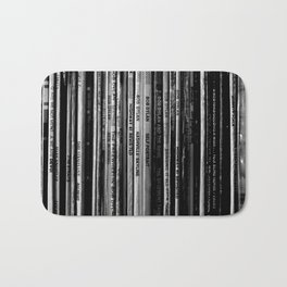 Folk Rock Records Bath Mat