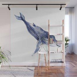 Humpback Whale Wall Mural
