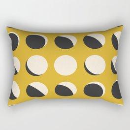 Moon Phased in Honey Rectangular Pillow