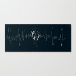 Scarecrow of Sound Canvas Print