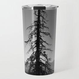 Black Tree in the Mountains Travel Mug